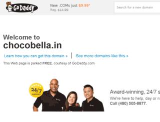chocobella.in screenshot