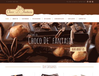 chocodefantasia.com screenshot