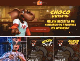 chocokrispis.com.mx screenshot