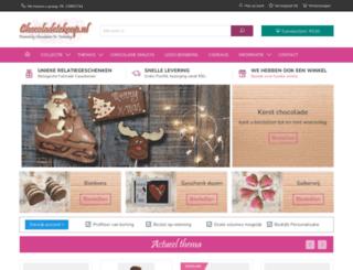 chocoladetekoop.nl screenshot