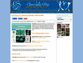 chocolatecakeclub.com screenshot