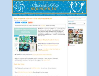 chocolatecakemoments.com screenshot