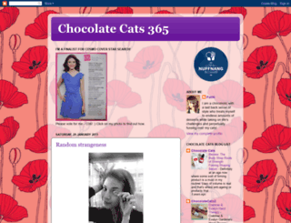 chocolatecatsz365.blogspot.com screenshot