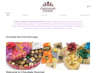 chocolategourmet.co.uk screenshot