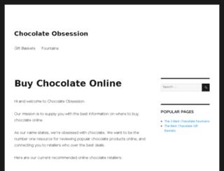 chocolateobsession.com screenshot