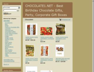chocolateone.net screenshot