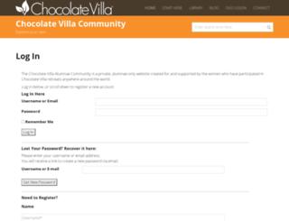 chocolatevillaforum.com screenshot