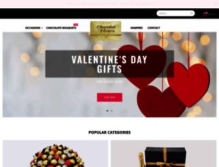 chocolatfleurs.com.au screenshot