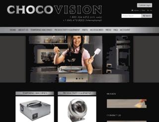 chocovision.com screenshot