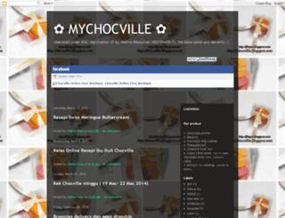 chocville.blogspot.com screenshot