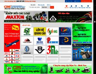 chodansinh.net screenshot