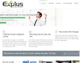 chodeal.explus.vn screenshot