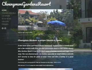 choengmongardens.com screenshot