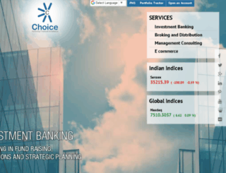 choiceindiagroup.com screenshot