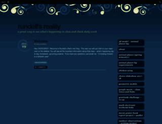 choicerundell.edublogs.org screenshot
