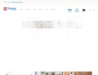 choicesflooring.com.au screenshot