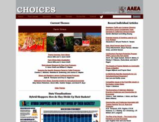 choicesmagazine.org screenshot