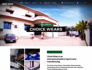 choicewear.com.pk screenshot