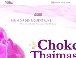 chokdee-massage-hamburg.de screenshot