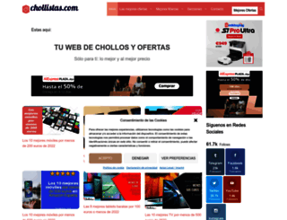 chollistas.com screenshot