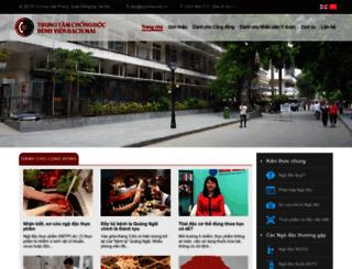 chongdoc.org.vn screenshot