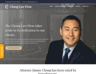 chonglawfirm.com screenshot