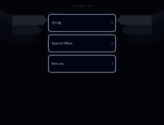 choongsm.com screenshot