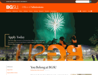 choose.bgsu.edu screenshot