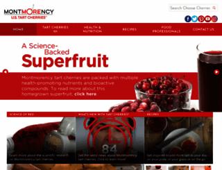 choosecherries.com screenshot