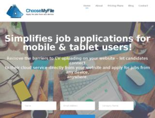 choosemyfile.com screenshot