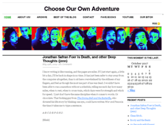chooseourownadventure.com screenshot