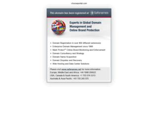 chooseportal.com screenshot