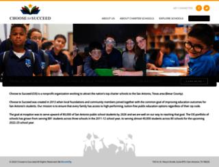 choosetosucceed.org screenshot