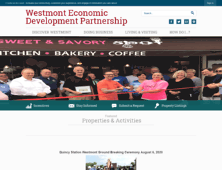 choosewestmont.com screenshot