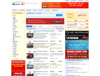 chootohanoi.bonbanh.com screenshot