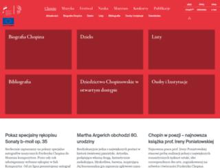 chopin.nifc.pl screenshot