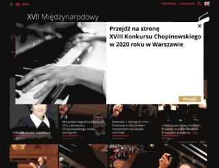 chopincompetition2015.com screenshot