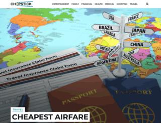 chopstick.com screenshot