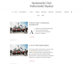 chor.gliwice.pl screenshot