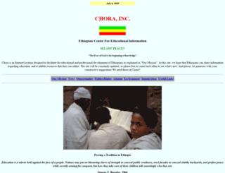 chora.virtualave.net screenshot
