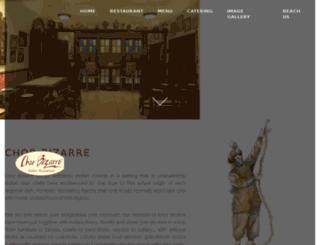 chorbizarrerestaurant.com screenshot