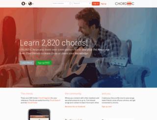 chord-c.com screenshot