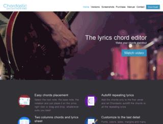 chordastic.com screenshot