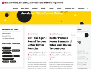 chordata.info screenshot