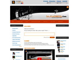 chordshub.com screenshot