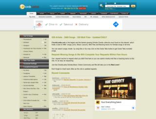 chordslanka.com screenshot