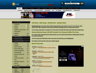 chordslankalk.com screenshot