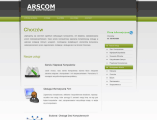 chorzow.arscom.pl screenshot
