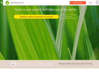 chotkiy.worksection.com screenshot
