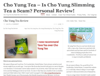 choyungslimmingtea.org screenshot